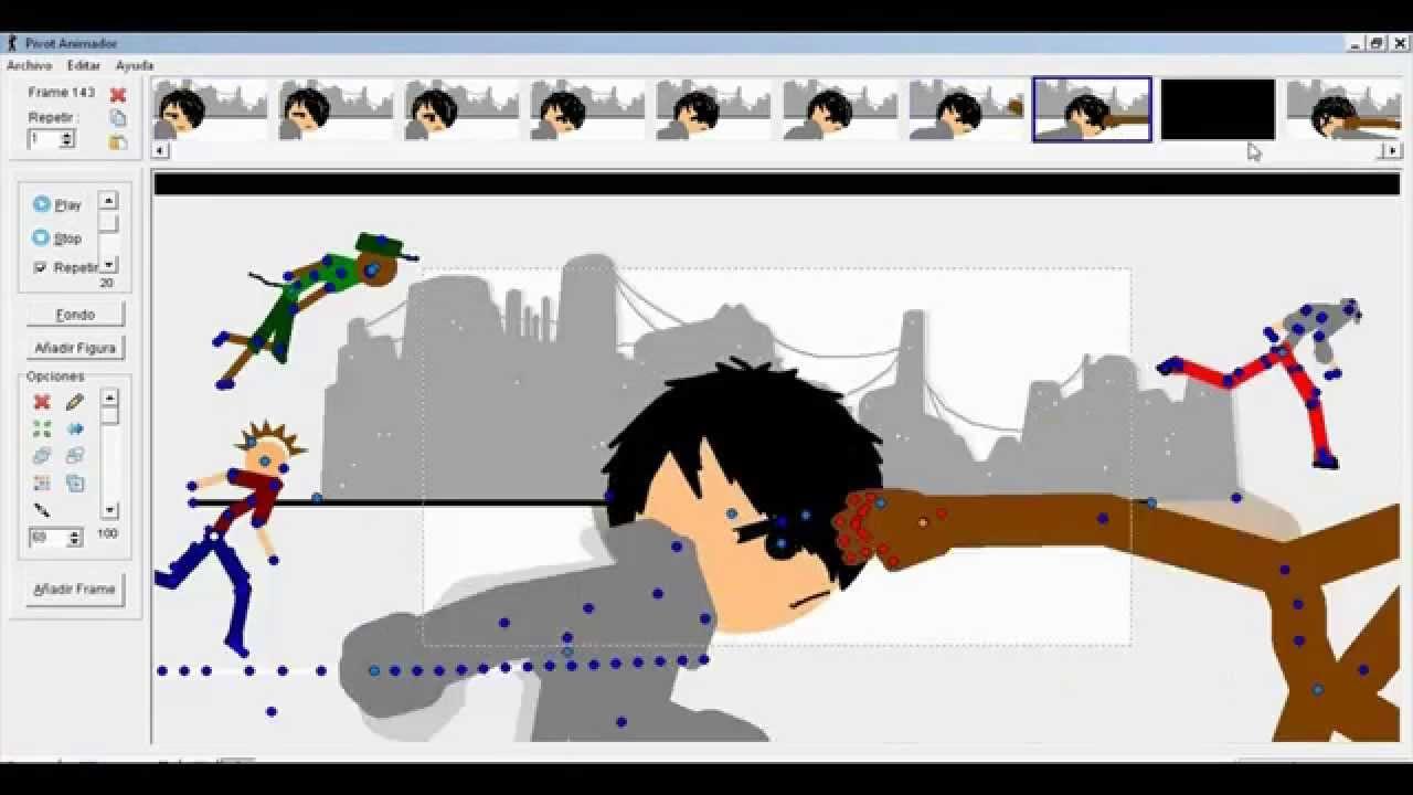 how to add music to pivot stickfigure animator